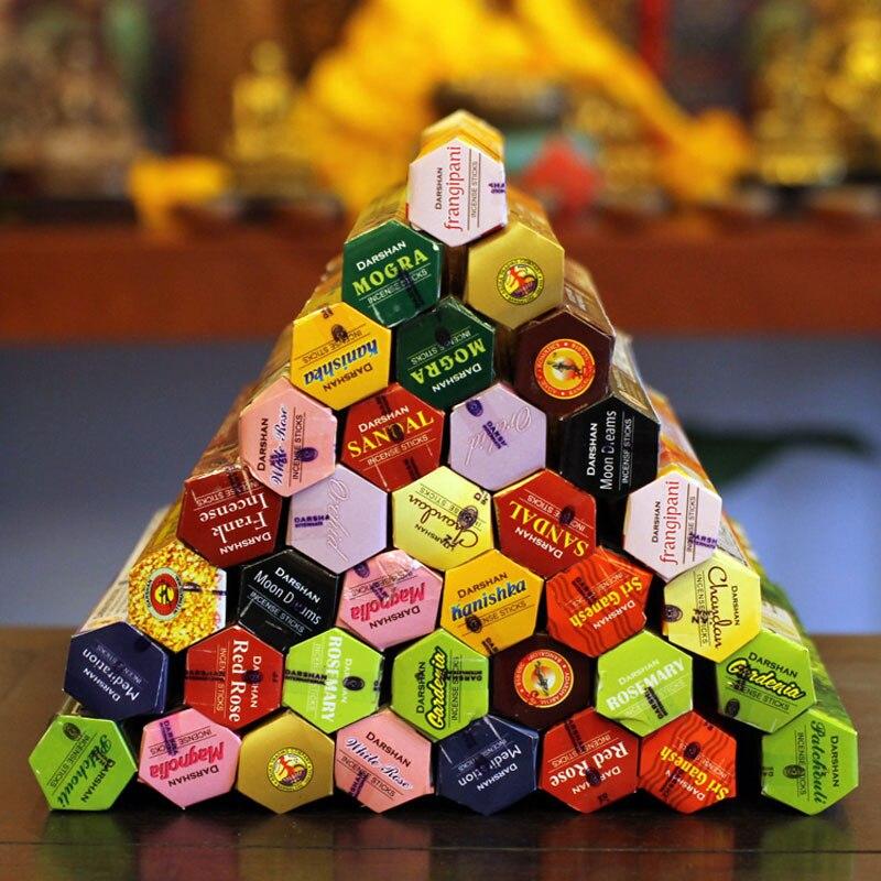 47 ароматов RAJ Тибетский ладан палка индийский Ладан премиум несколько ароматов сандалового дерева медитация Домашний аромат а