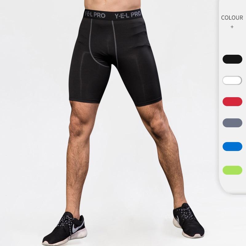Hot Selling Men's Sports Shorts Fitness Running Tight Training Shorts Quick Dry Breathable Shorts Basketball Shorts S/M/L/XL/XXL недорого