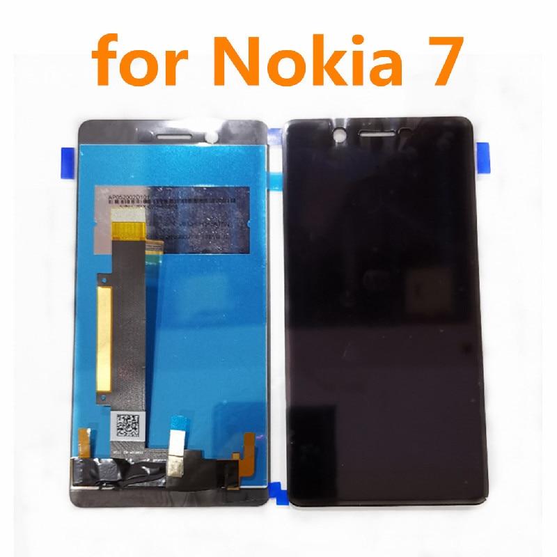 """6,0 """"Original para Nokia 7 N7 pantalla LCD de montaje de digitalizador con pantalla táctil para Nokia7 TA-1062 TA-1046 TA-1055 pantalla"""