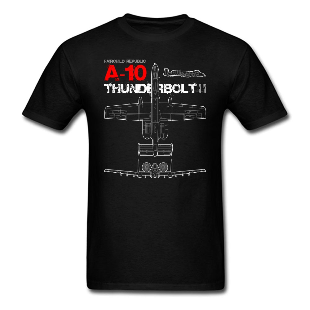 A-10 Thunderbolt II Warthog Avião de Guerra Tanque Assassino Tshirt S-3XL Hight Qualidade T-shirt EUA TAMANHO
