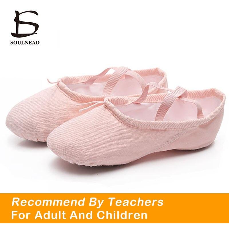 Heißer Ballett Schuhe Für Mädchen Frauen Leinwand Yoga Gym Hausschuhe Salsa Tanz Schuhe Ballett Schuhe Für Frauen Wohnungen Rot Schwarz 24-45 größe