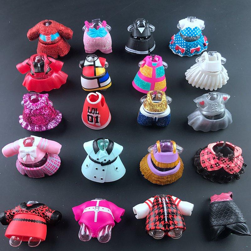 Quente original bonito boneca roupas para diy lols grande boneca figura brinquedo acessórios brinquedos decorações produtos