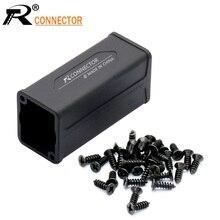 1pc boîtier extérieur en plastique pour LED PowerCon adaptateur de coupleur ca connecteur dextension haute qualité