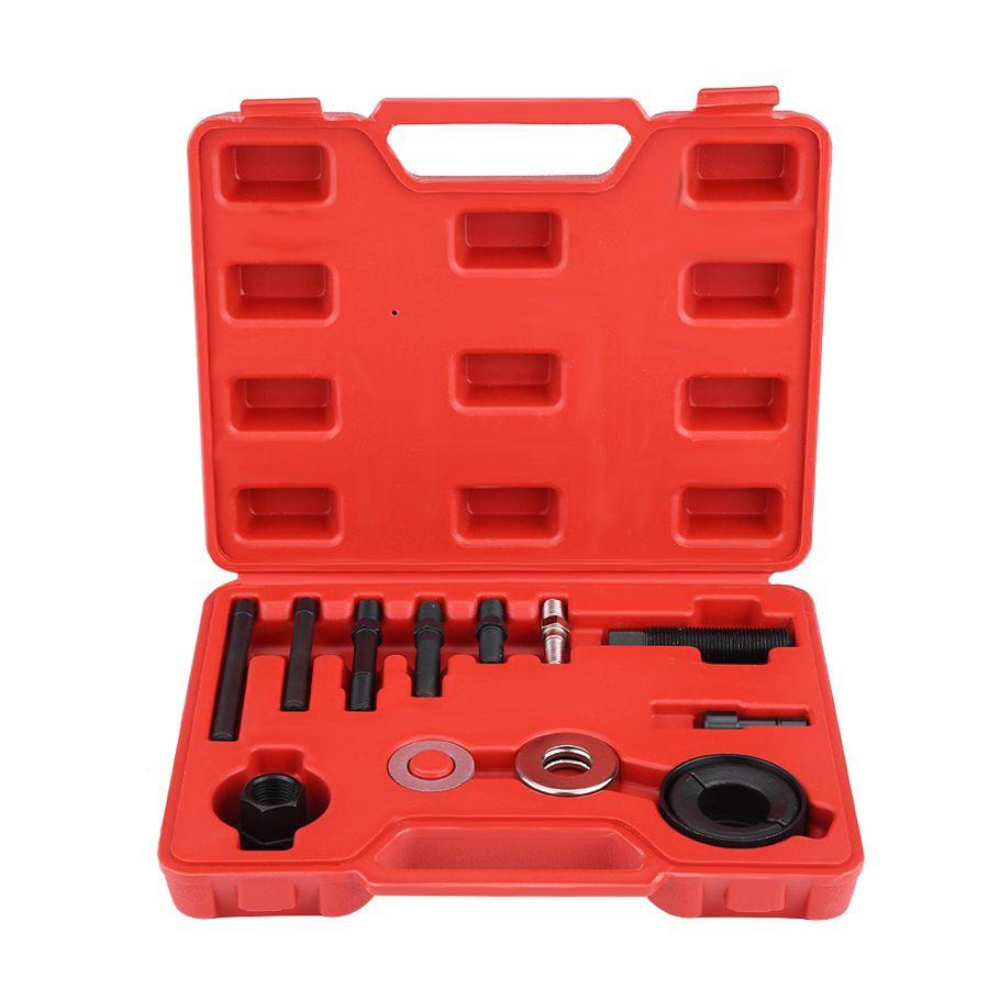 Extracteur de poulie pour automobile, 13 pièces, extracteur de pompe de direction assistée, alternateur, outil d'installation de poulie ca