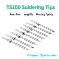gudhep factory ts100 soldering iron tips replacement iron tips for ts100 soldering iron