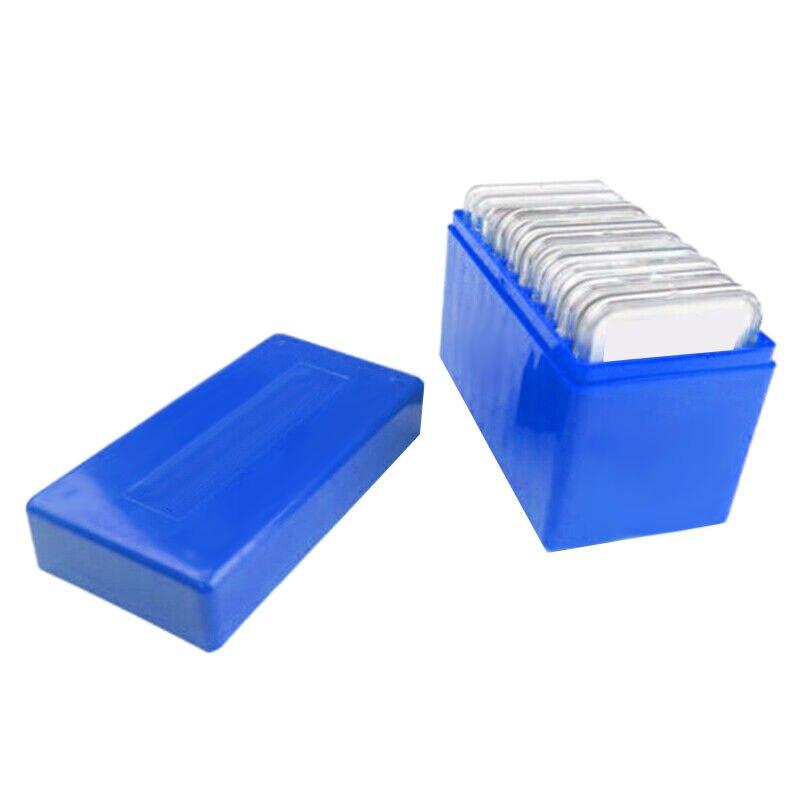 GTBL plástico cuadrado 10 Capacidad de la moneda titular de la caja de almacenamiento de la losa apto para PCCB NGC PCGS