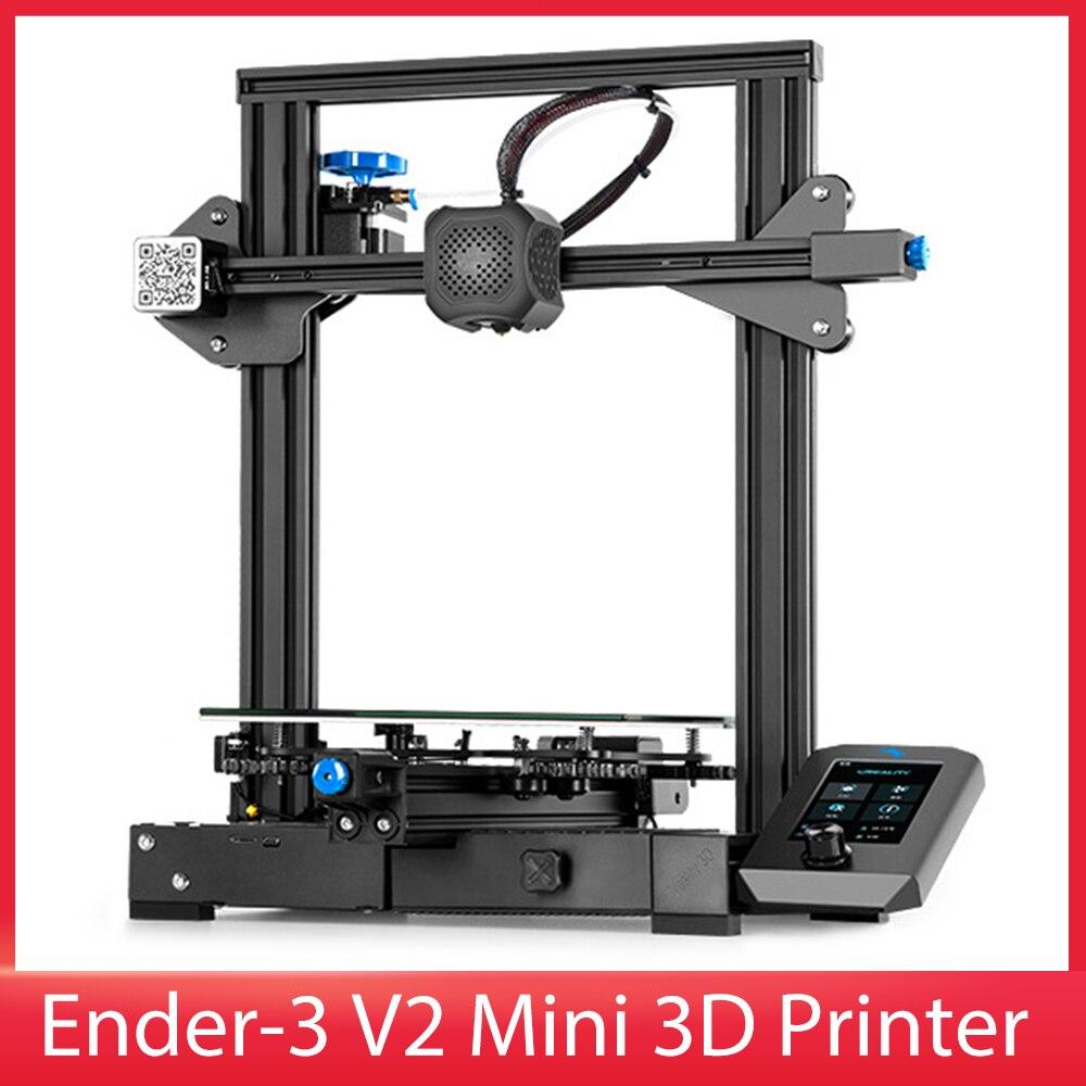 آلة طباعة ثلاثية الأبعاد من اندر 3 V2 تصميم هيكل متكامل لوحة أم صامتة خاصية الطباعة الذاتية منصة زجاجية كاربوراندوم