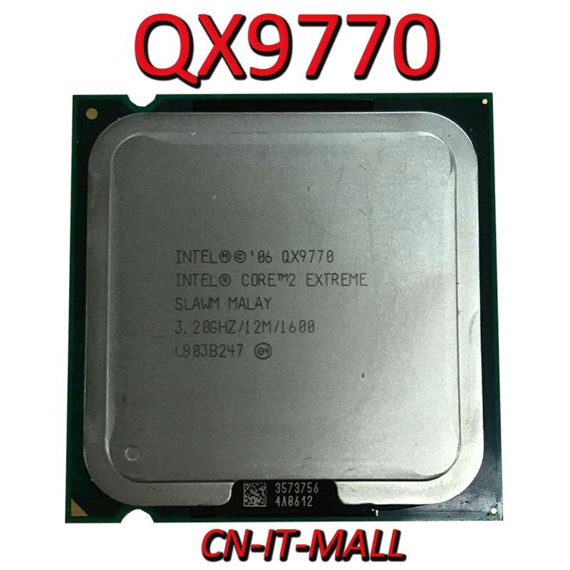 Intel Core QX9770 CPU 3,2G 12M 4 Core 4 hilo LGA775 procesador