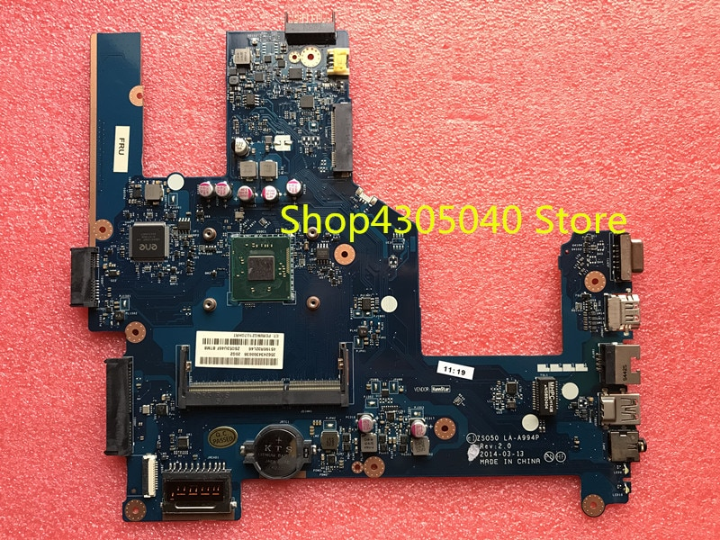 787809-001 787809-501, 787809-601 para HP Compaq 15-R 15T-R 15-s 250 G3 placa base de computadora portátil ZS050 LA-A994P SR1YW N3540