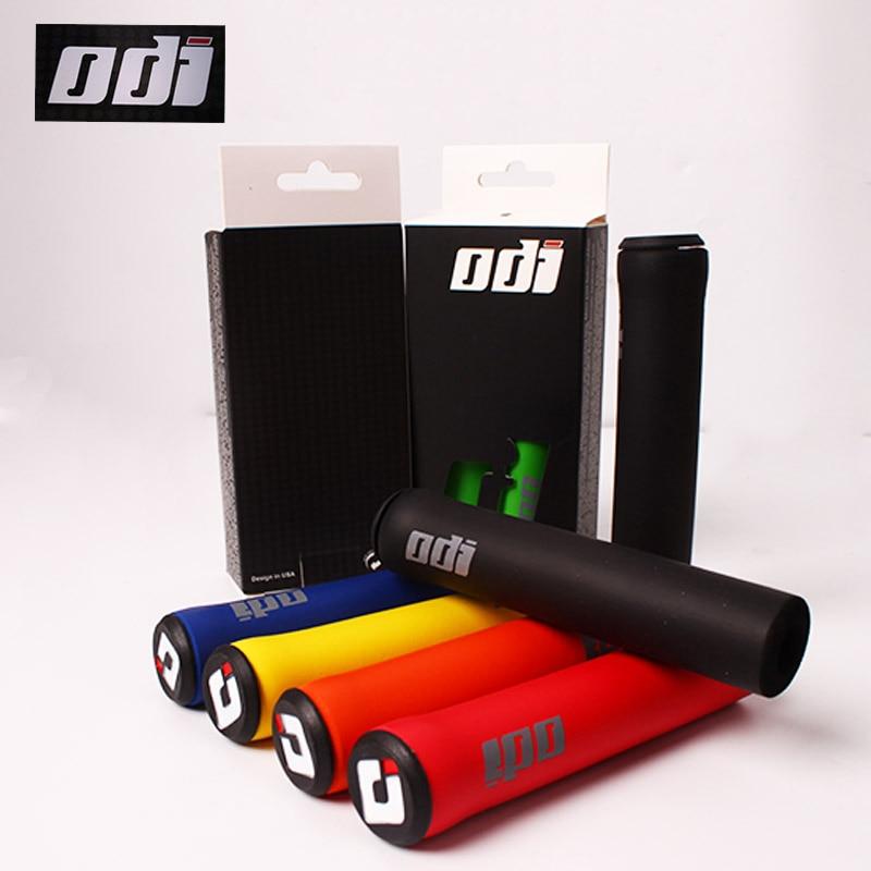 2PCS ODI Bicycle-Grips MTB Handlebar Grips Soft Mountain Bike Silicone Handle bar Grip Bicycle Accessories