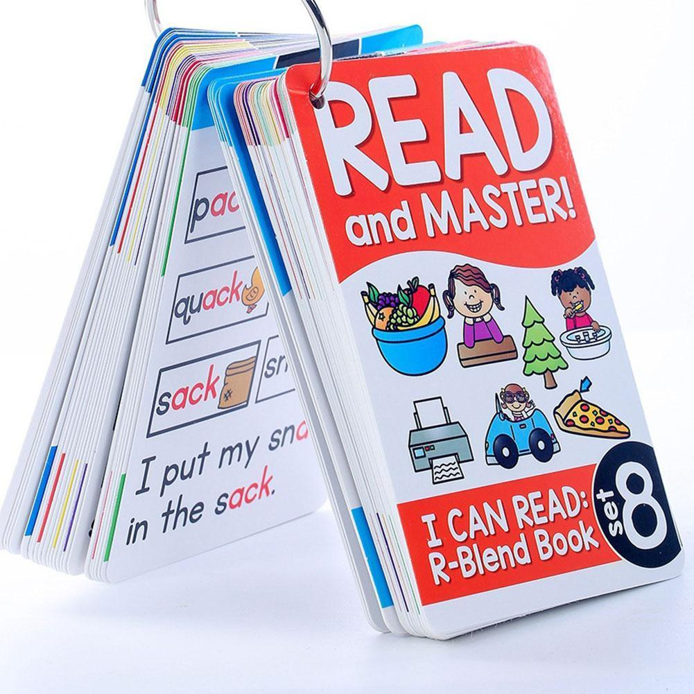 Телефонные карты на английском языке для раннего обучения флэш-карты для образования слов, Обучающие Подарочные карты игрушки для изучения...