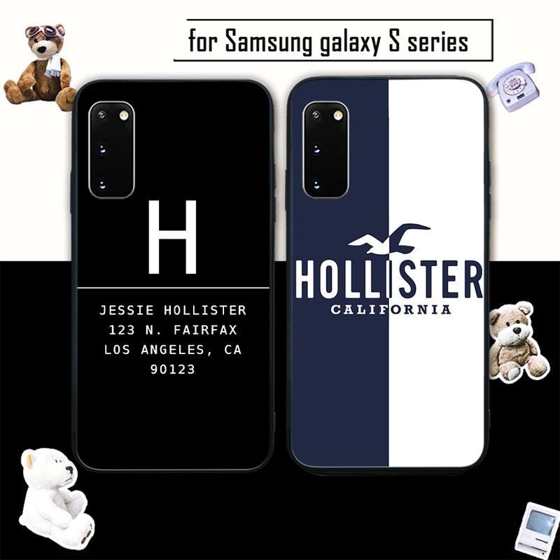 HOLLISTER бренд мобильный телефон чехол для Samsung galaxy s6 s7 edge s8 s9 s10 s10 lite s20 ультра плюс coque