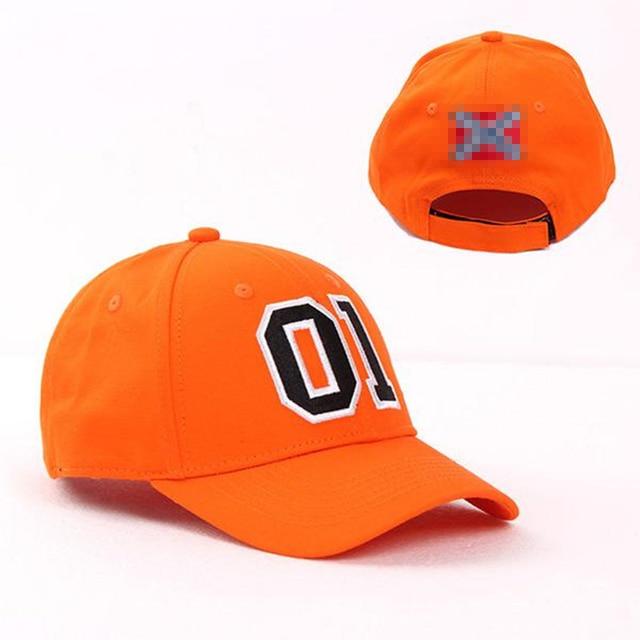 General Lee 01 Embroidered Cotton Cosplay Hat Orange Good OL' Boy Dukes Baseball Cap Adjustable 8