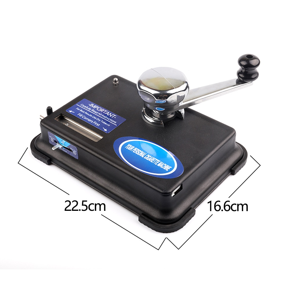 Brand new 6.5mm Rolling Machine for Tobacco Cigarettes Hand-crank Cigarette Machine Maker Roller DIY Smoking Accessories Tool enlarge