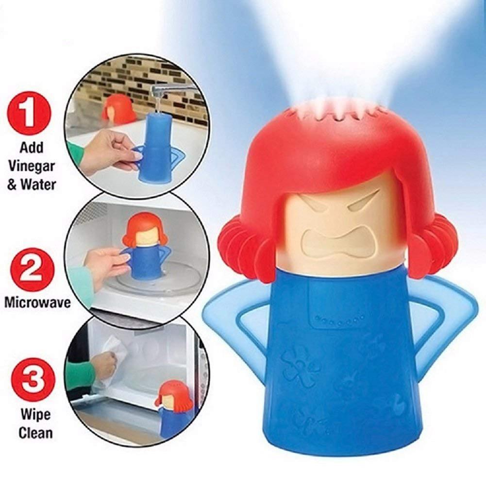 Cocina Mama limpiador de microondas limpia fácilmente microondas horno Limpiador de vapor electrodomésticos para la limpieza del refrigerador de la cocina