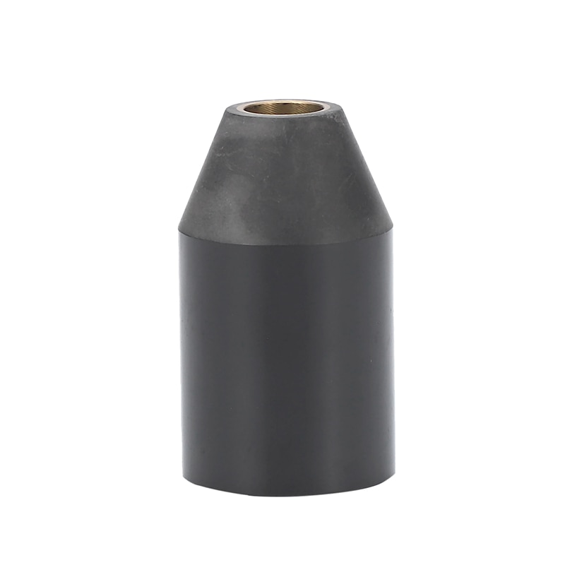1 pieza negro Plasma Cutter Shield Cup Metal Shield Cap 9-8218 para la dinámica térmica SL60 SL100 antorcha