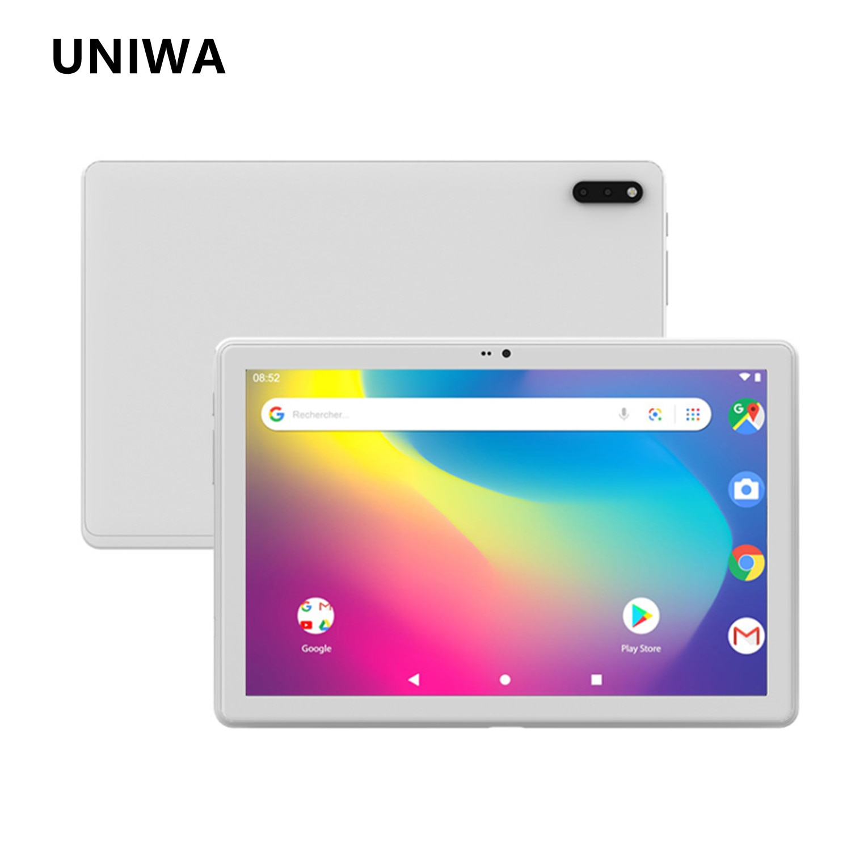 UNIWA UTAB U618 Tablet PC 10.1 Inch 4GB 64GB Dual SIM Cards WiFi Bluetooth GPS Tablets Android 10.1 4G LTE Phone Call Tablet