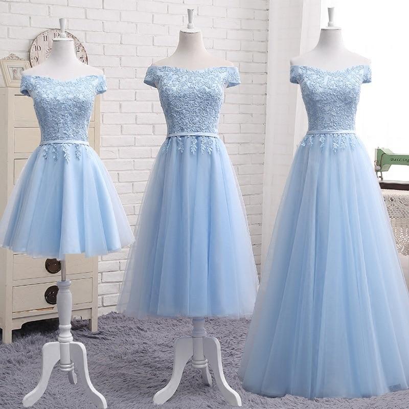 فستان إشبينة العروس طويل أزرق ، فستان سهرة أنيق ، لوصيفة العروس ، حفل زفاف ، أزرق سماوي ، فستان غالا ، مجموعة جديدة