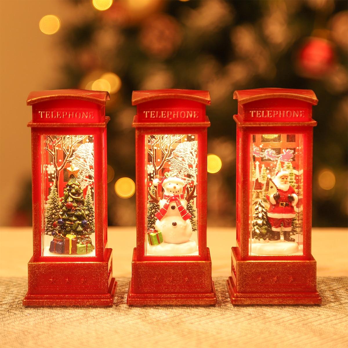 Рождесветодиодный ские Светодиодные ночные светильники, рождественские украшения, декоративные светодиодные светильники для комнаты 2021, ...
