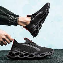 Кроссовки мужские дышащие, на шнуровке, удобная спортивная обувь для ходьбы и бега, модные, 39-46