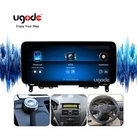 ugode12 3inch android10 0 464g carplay autoradio display screen multimedia player for mercedes benz c class w204 s204 c180 c200