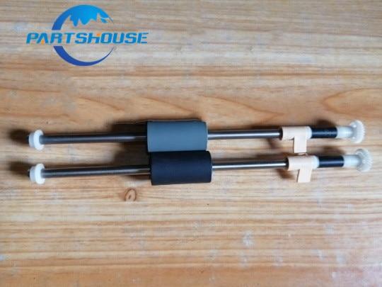 2xScanner camioneta rueda de rodillos de rodillo de alimentación para una visión AV121 AV122 AD125 AV50F AV122C2 AT120 AT125 AT100 AV160 AV180 AW1000