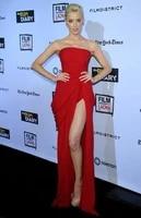 long red chiffon mermaid celebrity dresses with slit strapless robe de soiree floor length pleated formal dresses for women