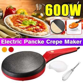Electric Crepe Maker Pizza Pancake Machine Non-Stick Griddle Baking Pan Cake Machine Kitchen Cooking Tools 220V