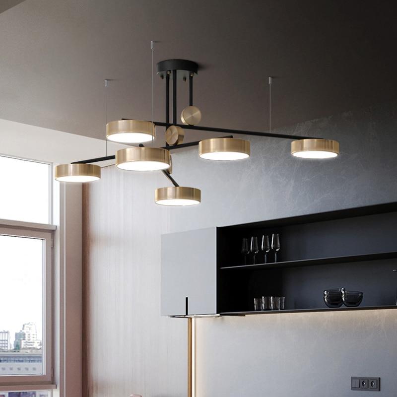 Post-modern living room Pendant Lights Nordic minimalist creative personality atmosphere hotel restaurant Pendant Lights