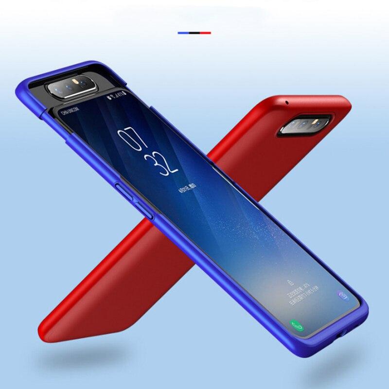 Fundas completas de 360 grados para Samsung Galaxy A80 A805F Funda dura mate a prueba de golpes para Galaxy A80 SM-A805F Funda coque