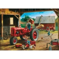 5d diy diamond painting full squareround drill tractor landscape 3d rhinestone embroidery cross stitch gift home decor gift