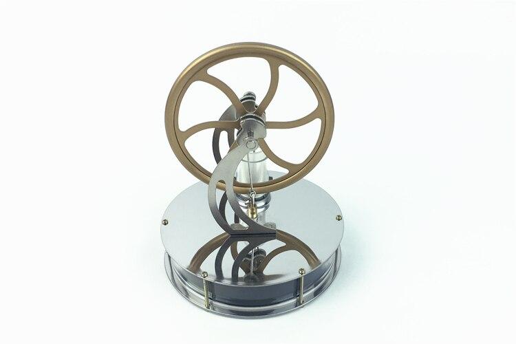 Basse température Stirling moteur moteur vapeur chaleur éducation modèle chaleur vapeur éducation jouet pour enfants artisanat ornement découverte
