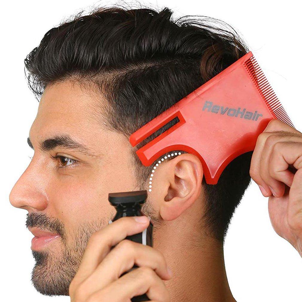 Beauty Salon Magic Barber Neck Hairline Guide Neckline Haircuts Hair Model Diy Tool Hair Model Neck Hairline