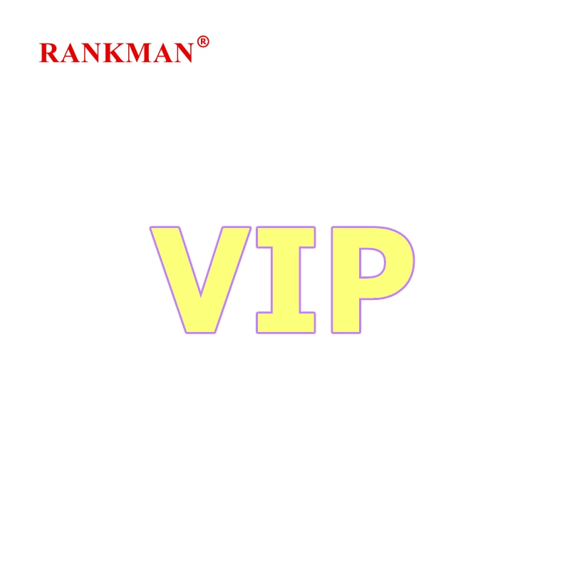 RANKMAN VIP Extra Payment (Do Not Buy, Do Not Ship)