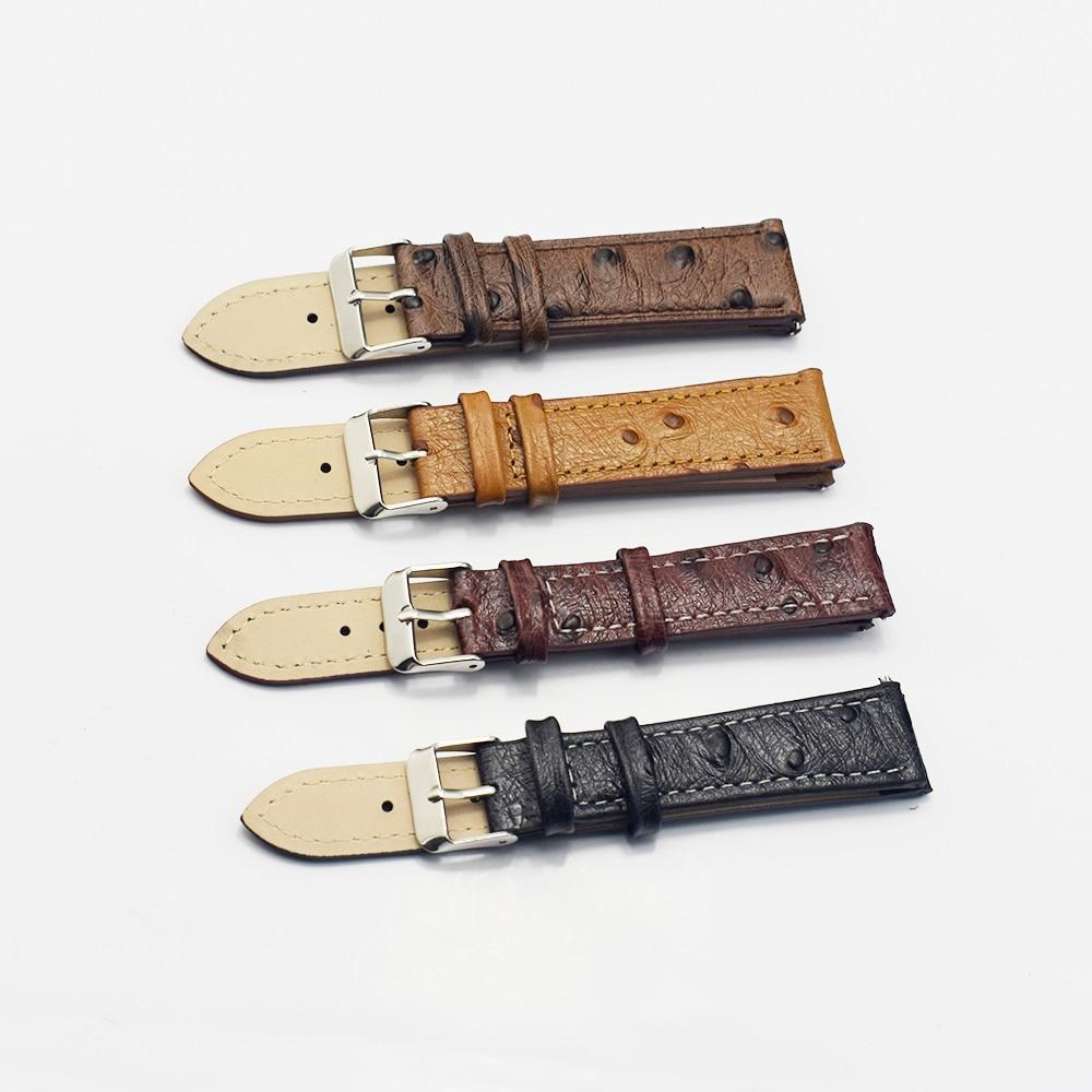Correa de reloj Vintage con patrón de avestruz, correa de reloj de...