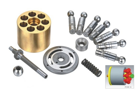كوماتسو محرك حفار متذبذب PC60-6 اكسسوارات وقطع غيار إصلاح أطقم