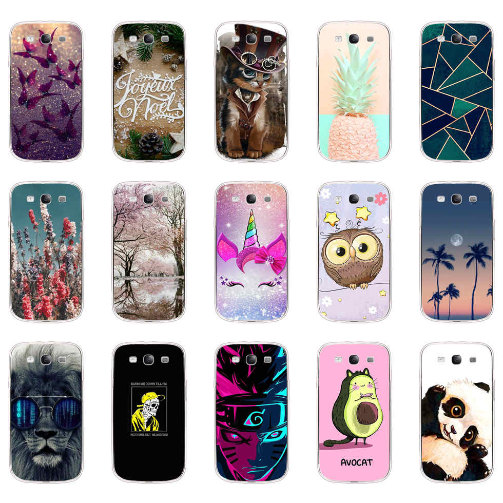 Funda de teléfono para Samsung Galaxy S3, carcasa para S3, SIII, I9300,...