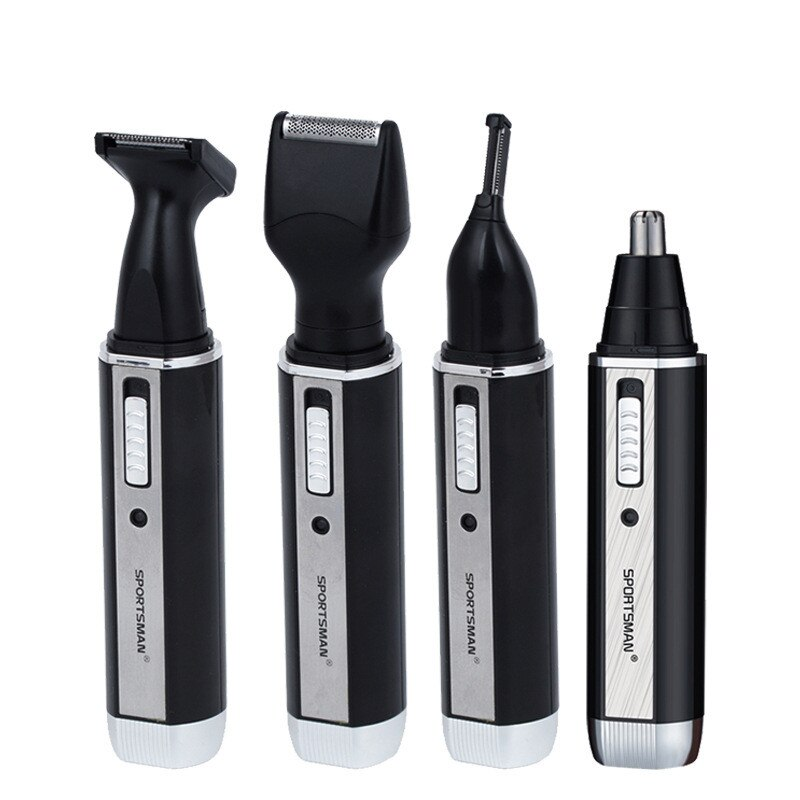 Electric Hair Trimmer Stainless Steel Multifunctional Moustache Beard Body Nose Hair Remover Trimmer Ear Eyebrow Shaver Cutter enlarge
