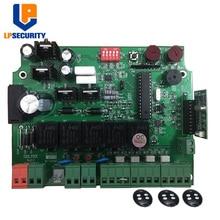 LPSECURITY 12В открывалка для ворот элемент управления панели PCB Материнская плата для двустворчатых ворот двигателя