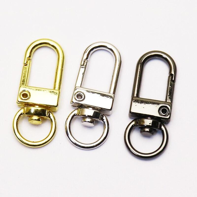 20 قطعة قفل مجوهرات مستديرة مشبك للنساء المشبك قلادة العصرية المعادن دلاية مجوهرات دلاية مجوهرات للنساء 51225