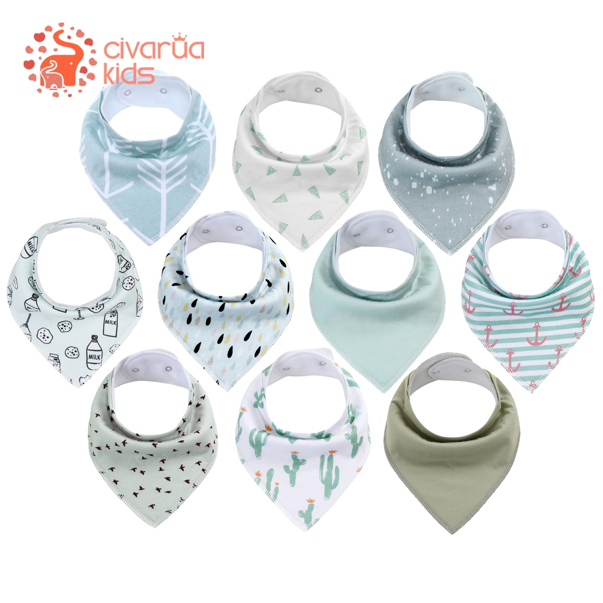 2pcs-baby-bibs-unisex-newborn-baby-bandana-bibs-for-drooling-and-teething-organic-cotton-soft-and-absorbent-hypoallergenic-bibs