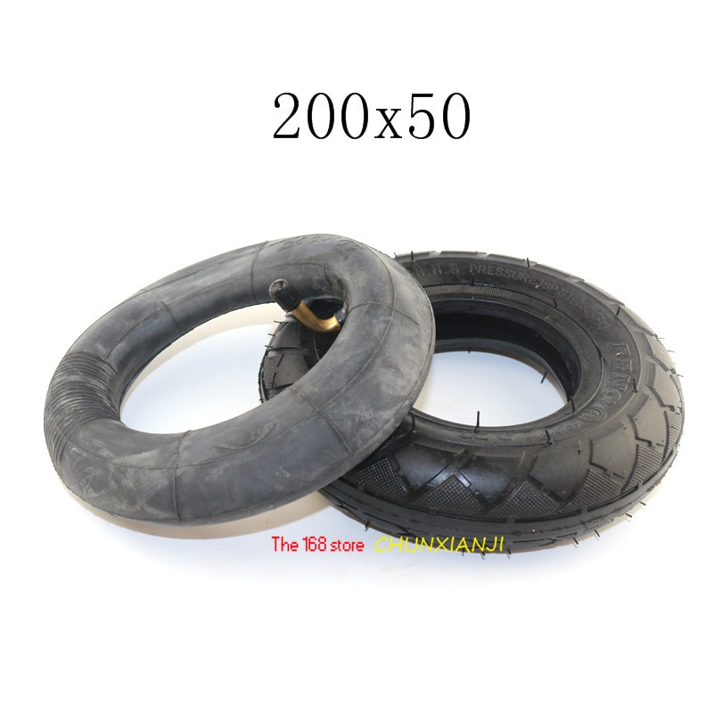 "De alto rendimiento 200x5 0/8x2 ""pulgadas neumático tubo interior para eléctrico escúter motocicleta ATV ciclomotor piezas 200*50"
