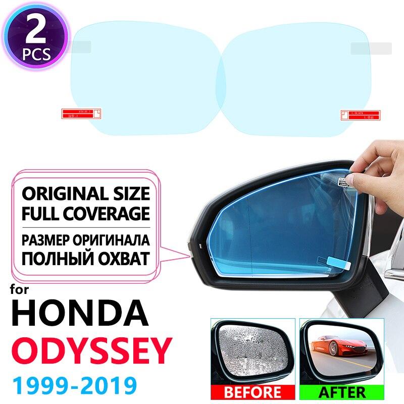 Cubierta completa Anti niebla impermeable película espejo retrovisor para Honda Odyssey JDM modelo RA6 RA9 RC1 RC2 1999 Accessories 2019 películas de automóviles Accesorios