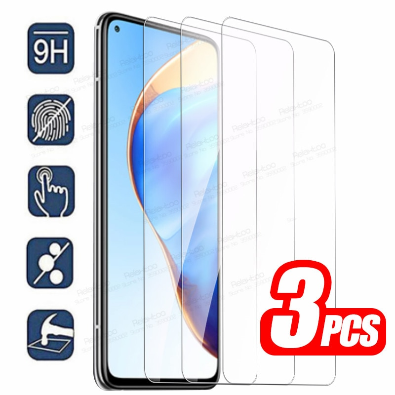 3pcs Tempered Glass For Xiaomi Mi 10T Pro Protective Glass Xiomi 10 T Lite Light 10Tpro Mi10T T10 5G Screen Protector Cover Film