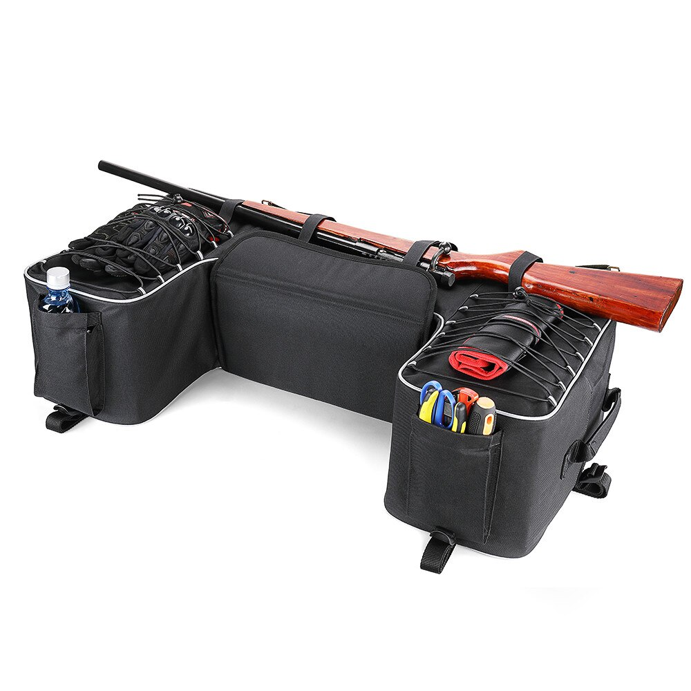 Storage For Can-Am Outlander 400 Rear Rack Bag Package Support Storage Pack Back ATV For Yamaha Big Bear 400 for Polaris 300