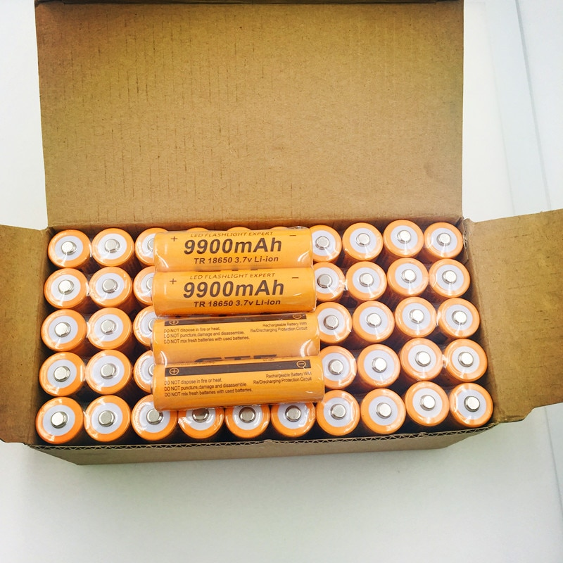 2-10 sztuk Dolidada TR 18650 bateria 3.7V 9900mAh akumulator litowo-jonowy wlać LED latarka Hot New wysokiej jakości