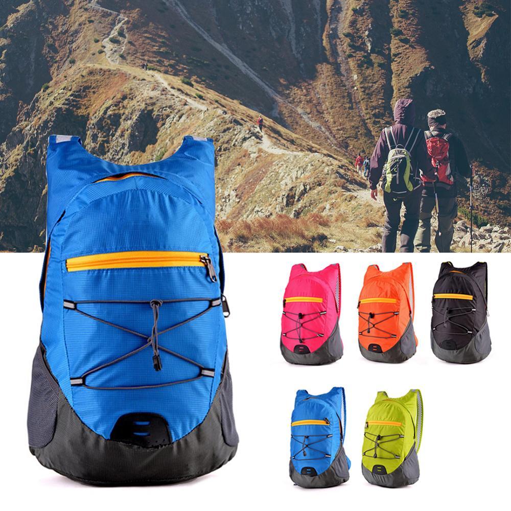 Легкий упаковочный рюкзак, складной Сверхлегкий уличный складной удобный дорожный рюкзак для мужчин и женщин