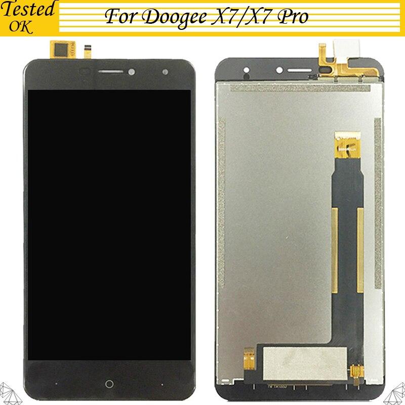 6,0 pulgadas para Doogee X7 Doogee X7 Pro pantalla LCD y pantalla táctil digitalizador reemplazo de montaje para x7 lcd