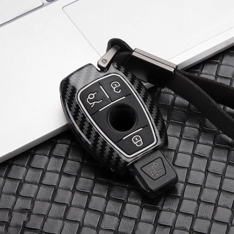 Новая горячая распродажа цинковый сплав + силиконовый чехол для ключей от машины крышка брелок для Mercedes Benz CLS CLA GL R SLK AMG A B C S класс аксессуары