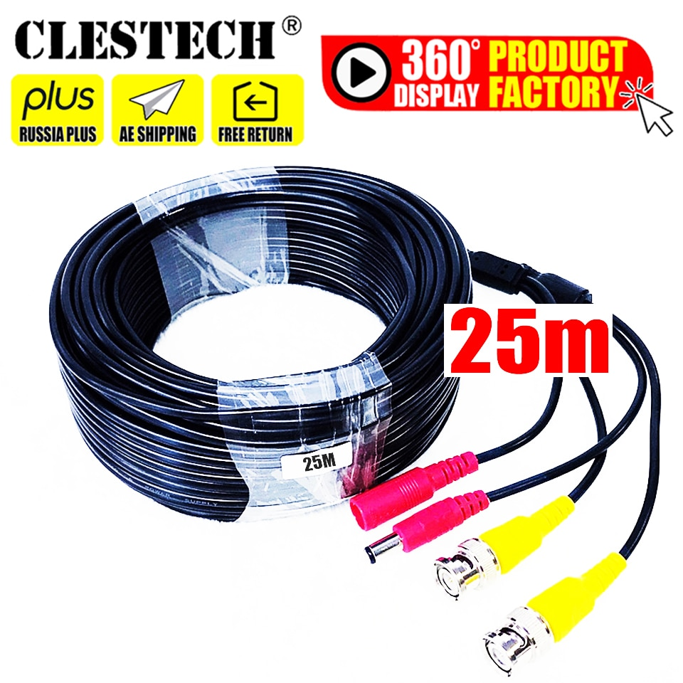 Все медные услуги эксклюзивная цена ссылка 20 м видео + Мощность ahd CCTV кабели безопасности кабели для видеокамеры для CCTV DVR с BNC DC
